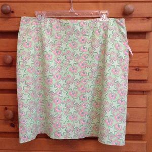 Vineyard Vines floral skirt
